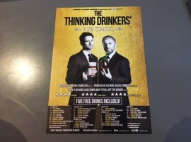 Preview: The Thinking Drinkers – Pub Crawl at The Lowry