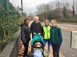Salford parents making strides to improve their health and wellbeing