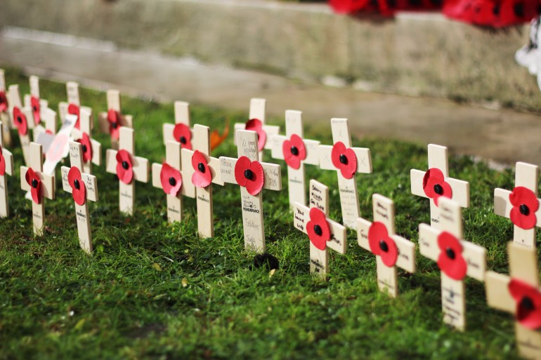 Remembrance day Salford