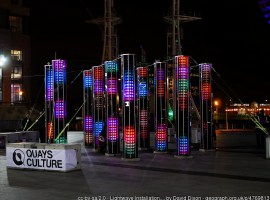 The Lightwaves festival returns to Salford Quays this winter