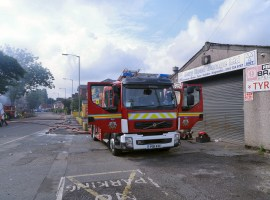 Elderly husband and wife killed in a house fire in Walkden