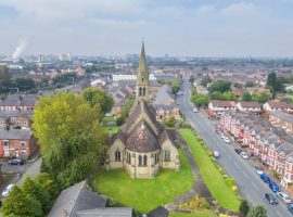 Church in Salford has been registered as Heritage at risk due to it damaged roof and broken gutters