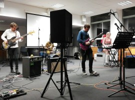 Salford students raise money for homeless people with video games concert