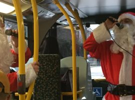 Stagecoach's Singing Santas raising money for children's hospital