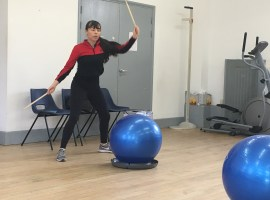 Drummercise brings fun to physical activity in Salford