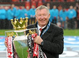 File photo dated 12-05-2013 of Manchester United manager Sir Alex Ferguson