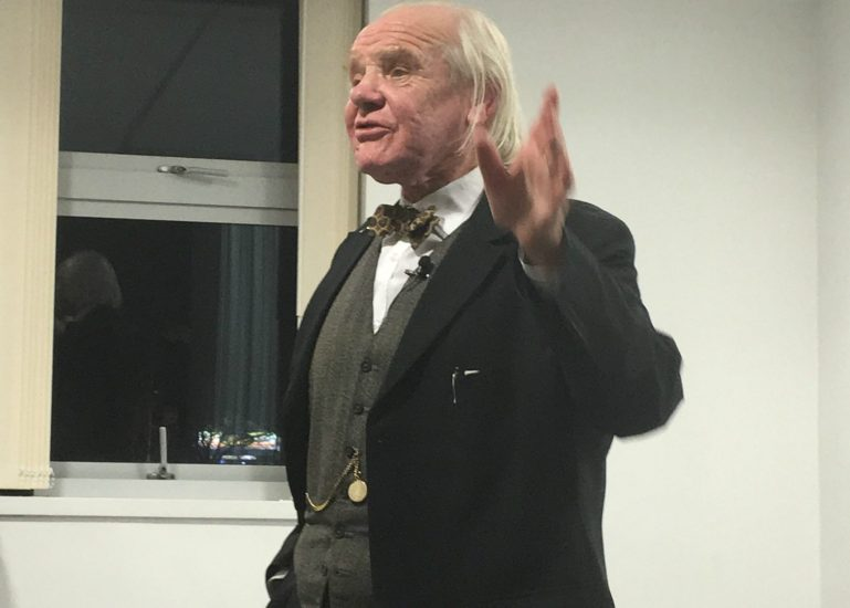 Dr Allan Chapman gives a lecture on the power of astronomy at Swinton Gateway