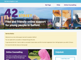 42nd Street - Online counselling service