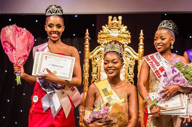 Winners of Miss Uganda UK 2018/19