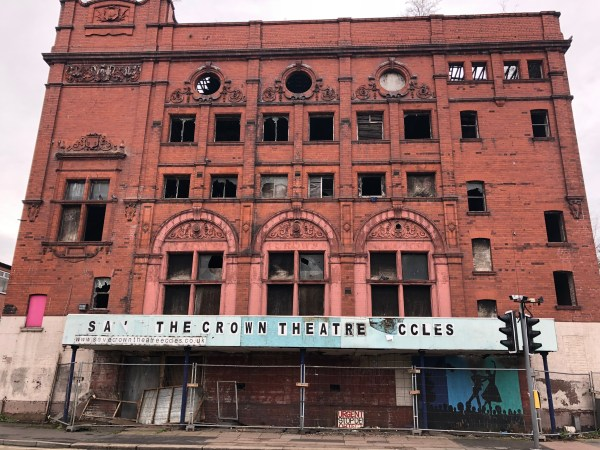 Disappointment over decision to turn Eccles' Crown Theatre into flats