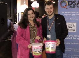 Salford launch LGBT History month with the Big Pink Fundraiser
