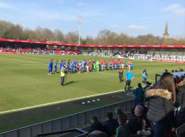 Salford City go second after late show