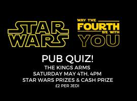 Kings Arms Salford to host Star Wars quiz night 'May the Fourth Be With You'