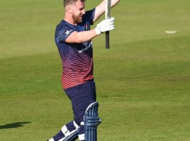 CRICKET: Lancashire seal dramatic win off last ball