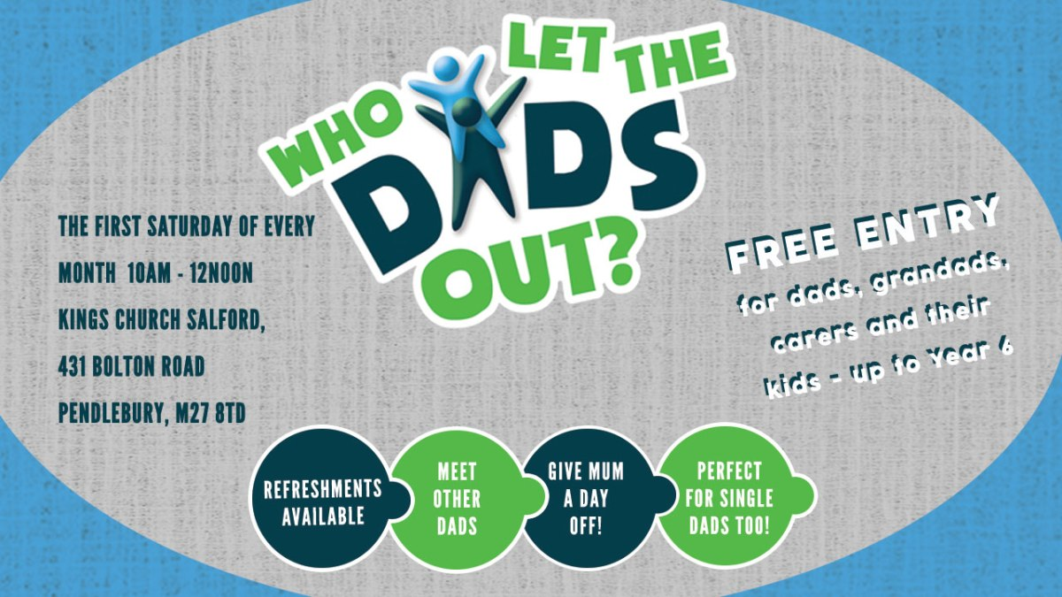 """I lost my identity"" - Kings Church to help Salford fathers and male community"