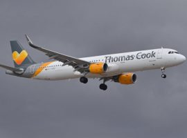 A Thomas Cook flight