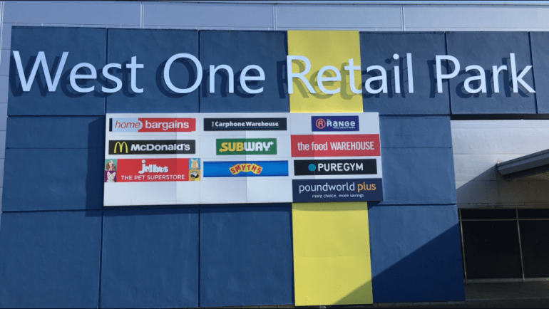 West One Retail Park- Lidl