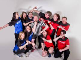 The ComedySportz team