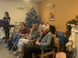 Residents of Beechfield care home (Photo credit: Nadine Rose)