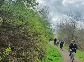 """""""A great way to keep fit"""" – Salford's great cycling routes encourage more to get out and about"""