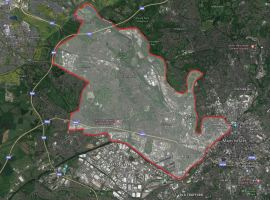 Salford and Eccles Constituency. Credit: Google Earth