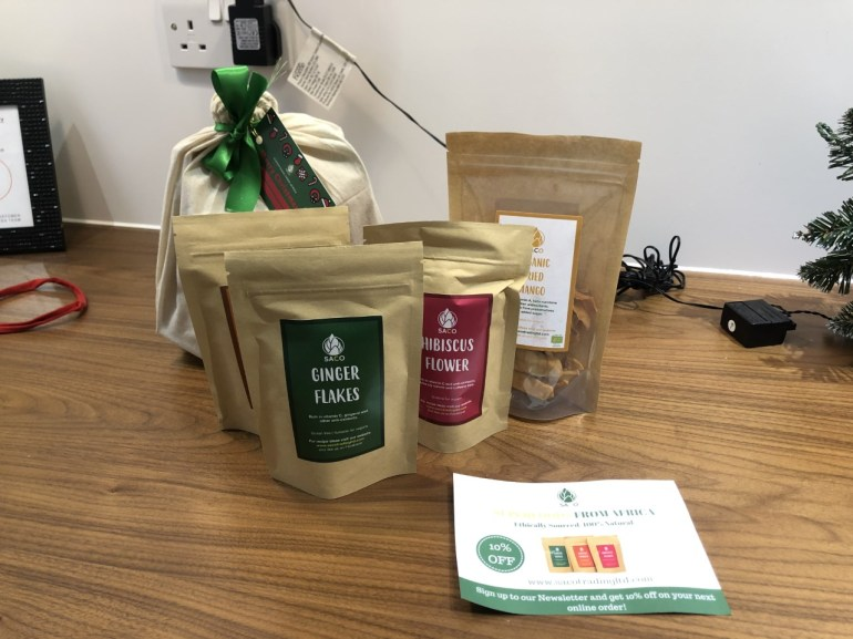 salford small business saco superfoods