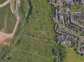 Kenyon Way, in the Little Hulton area of Salford. It's the proposed site for a brand new solar farm in Salford.