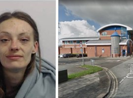 Lyndsey George. Image on the left supplied by GMP. Image on the right from Google street view.