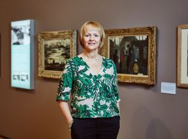 Julia Fawcett OBE, Chief Executive of The Lowry. Image credit: The Lowry.