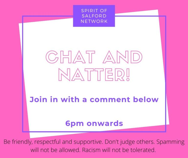 Chat and Natter with the Spirit of Salford Network