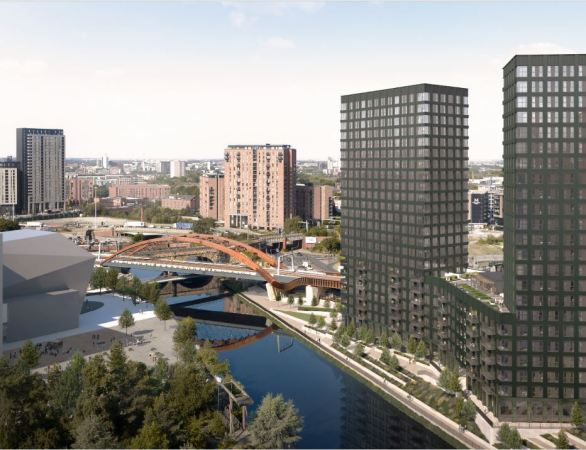 Work starts on latest sky-scraping New Bailey residential scheme