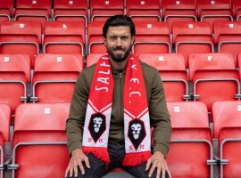 Jason Lowe has signed a three-year deal with the Ammies. Credit: Salford City