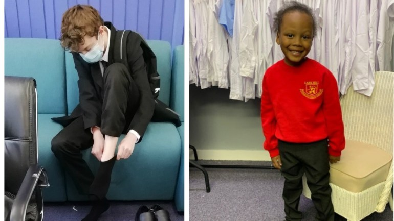 Salford charity uniform recycling