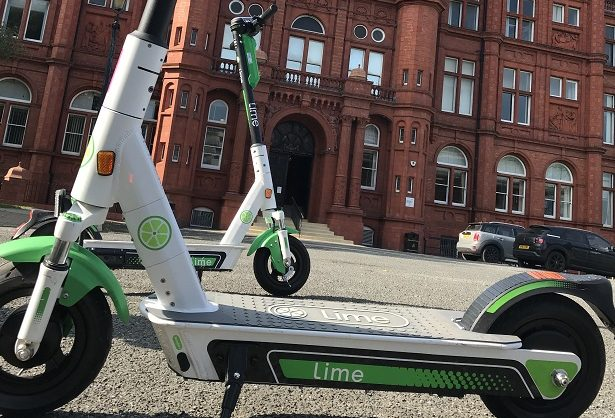 E-scooter Salford