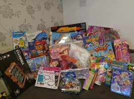 Salford Survivor Project toy collection from 2019. Image from Facebook page.