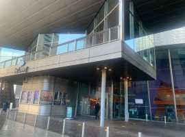 The Lowry Theatre  (Credit: Ellie Gifford)