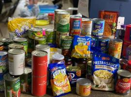 A food donation from a Salford foodbank Copyright: KidsRus
