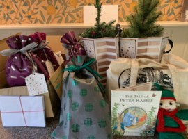 Donations for the Christmas hampers. cc The Worsley Rotary Club via Audrey Othick.