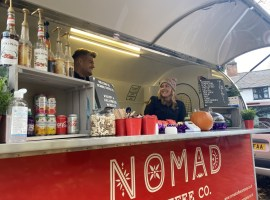 """""""The local community are absolutely loving it!"""" – A new mobile coffee pod in Worsley encouraging more families to enjoy the outdoors"""