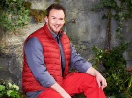 Credit: ITV - Russell Watson I'm a Celeb press Photo