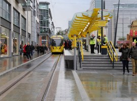 David Dixon / New Metrolink Stop at Exchange Square