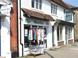 Brian Chadwick / Macmillan Cancer Support Charity Shop - North Street - Midhurst, West Sussex / CC BY-SA 2.0