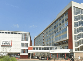 University of Salford (image taken from Google Streetview)