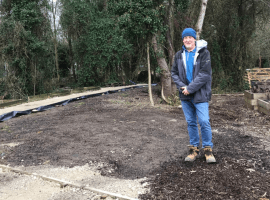 """""""Use our Imaginations"""" – Salford community garden asking for help in designing their new 'edible garden space'"""