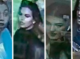 Police have released images of four women they wish to speak to in connection with the incident. Image credit: GMP