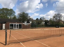 Competitive tennis back in Salford after nearly two years