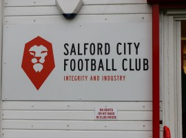 CRUCIAL CLASH: Salford City play Bolton Wanderers tonight