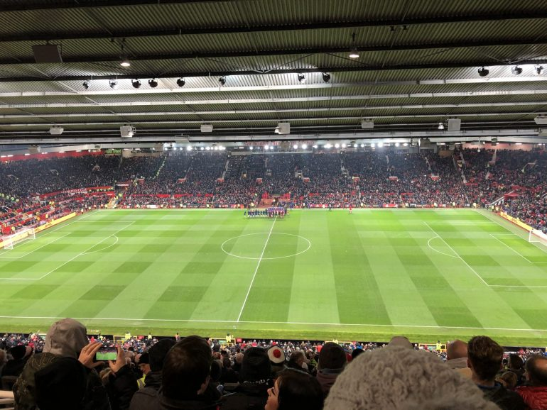 Football fans will be returning to Old Trafford tonight.