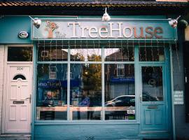 Image: The Treehouse Cafe. Permission to use granted by Eliška at The Treehouse Cafe.