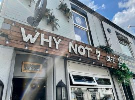 Why Not? Bar and Cafe in Boothstown